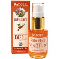 Badger Seabuckthorn Face Oil - for Normal/Dry Skin