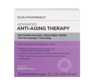 Skin + Pharmacy Anti-Aging Therapy Retinol Wipes