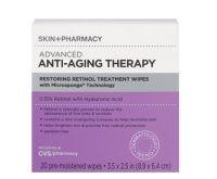 Skin + Pharmacy Anti-Aging Therapy Retinol Wipes