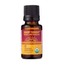 Desert Essence Sharp Thought Organic Essential Oil Blend