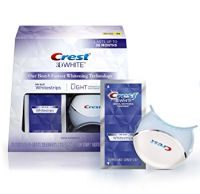 Crest 3D White Whitestrips with Light Teeth Whitening Kit
