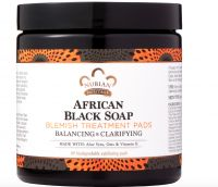 Nubian Heritage African Black Soap Blemish Treatment Pads
