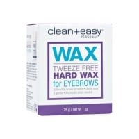Clean+Easy Tweeze Free Eyebrow Hard Wax
