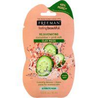 Freeman Feeling Beautiful Rejuvenating Cucumber + Pink Salt Clay Mask