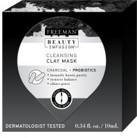 Freeman Beauty Infusion Cleansing Charcoal + Probiotics Clay Mask
