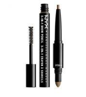 NYX Cosmetics 3-in-1 Brow Pencil