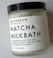 Fig + Yarrow Matcha Milkbath