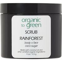 Organic to Green Rainforest Organic Coconut Oil Sugar Scrub