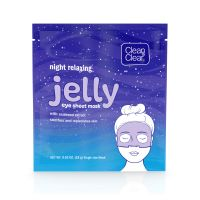 Clean & Clear Night Relaxing Jelly Eye Sheet Mask