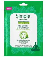 Simple De-Stress Sheet Mask