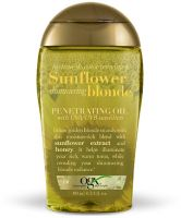 OGX Hydrate & Color Reviving + Sunflower Shimmering Blonde Penetrating Oil