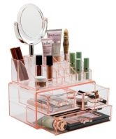 Sorbus Makeup Storage Organizer With Magnifying Mirror