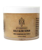 Bella Schneider Beauty Gold Glow Scrub with Champagne and Pearls