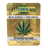 Uncle Bud's Hemp Detoxifying Face Mask