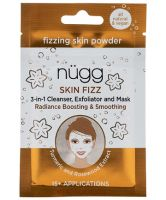 Nugg Beauty Skin Fizz 3-in-1 Foaming Facial with Turmeric and Rosewood Extract