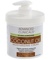 Advanced Clinicals Coconut Moisturizing Cream
