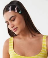 Urban Outfitters Sweet Kitten Flip Clip Set
