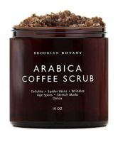 Brooklyn Botany Arabica Coffee Body and Face Scrub