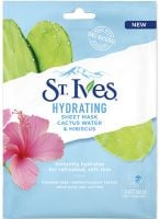 St. Ives Hydrating Cactus Water & Hibiscus Sheet Mask