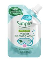 Simple Micellar Cleansing Water Pouch