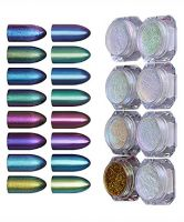 Born Pretty 8 Box Shinning Mirror Glitter Powder