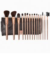 BH Cosmetics Rose Gold 15 Piece Brush Set with Holder