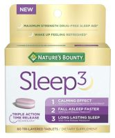 Nature's Bounty Sleep3 Tri-Layer Melatonin