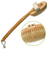 Zen Me Premium Dry Body Brush with Natural Bristles to Rejuvenate Your Skin