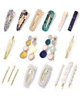 Cehomi Fashion Korean Style Pearls Hair Barrettes