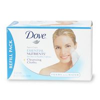 Dove Essential Nutrients Cleansing Cloths
