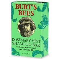 Burt's Bees Rosemary Mint Shampoo Bar