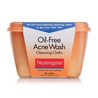 Neutrogena Oil-Free Acne Wash Cleansing Cloths