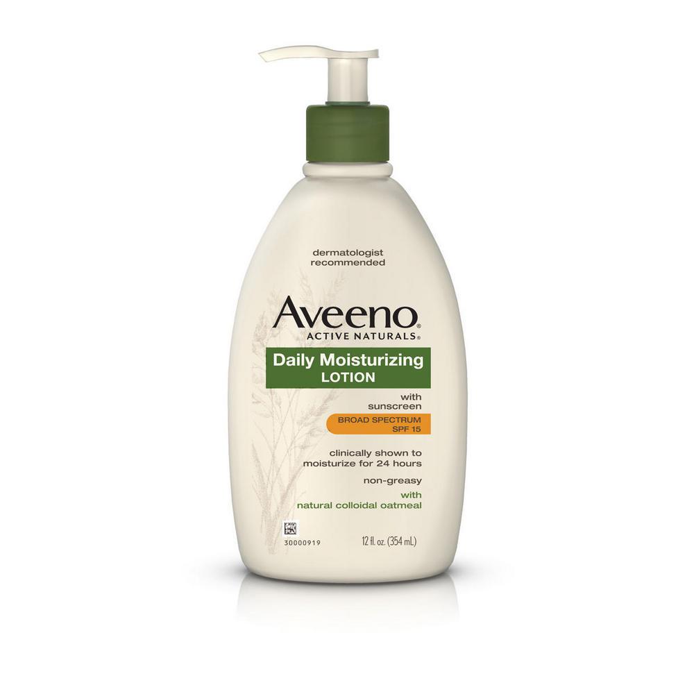 history of aveeno products
